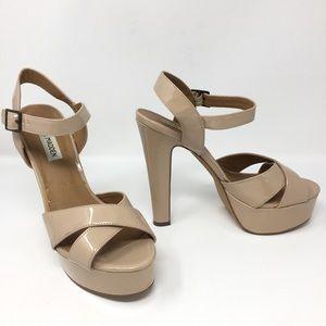 Steve Madden Jaece Patent Leather Platform Heels